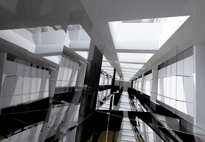 Arquitectos segovia, silencio arquitectos, cementerio en Santiago de Compostela