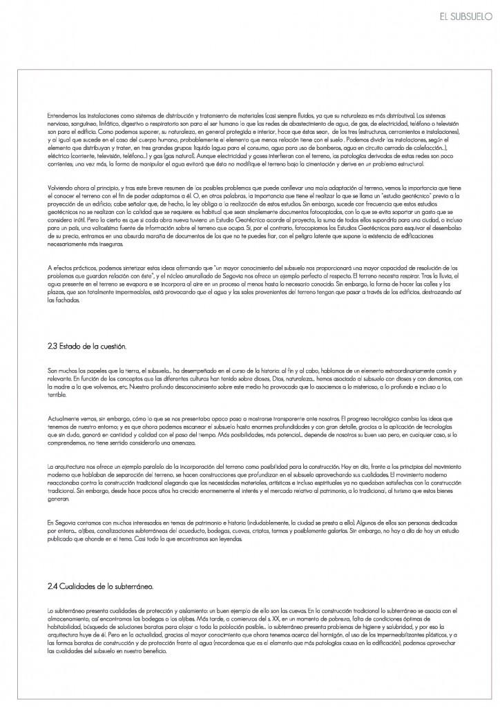 Arquitectos segovia, silencio arquitectos, Segovia subterránea