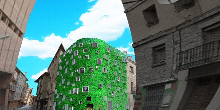 Arquitectos Segovia, silencio arquitectos, residencia de estudiantes en Segovia