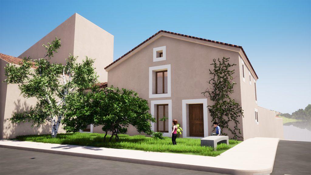 silencioarquitectos_Modelado BIM e infografías 3D_reforma vivienda