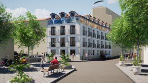 silencioarquitectos_Modelado BIM e infografías 3D_Edificio de viviendas