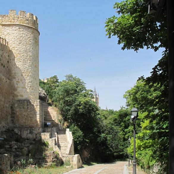 Arquitecto técnico Segovia, restauración del cubo 23 de la muralla de Segovia