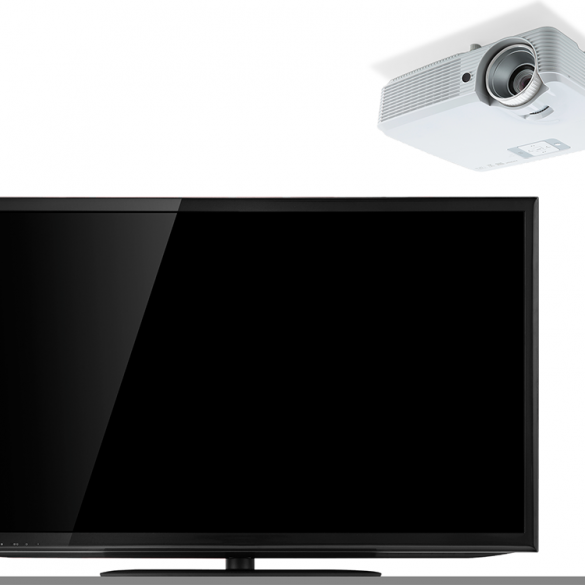 Arquitecto Segovia, silencioarquitectos, televisión o proyectorr